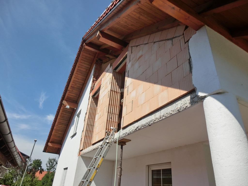 vom berdachten balkon zum wohnraum f r 3 kinder buchloe singoldbau gmbh bauen und. Black Bedroom Furniture Sets. Home Design Ideas
